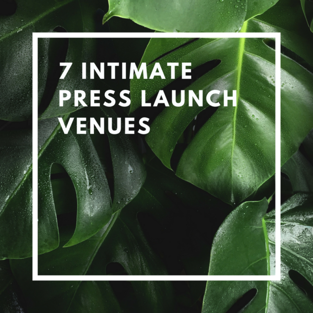 7 intimate press launch venues