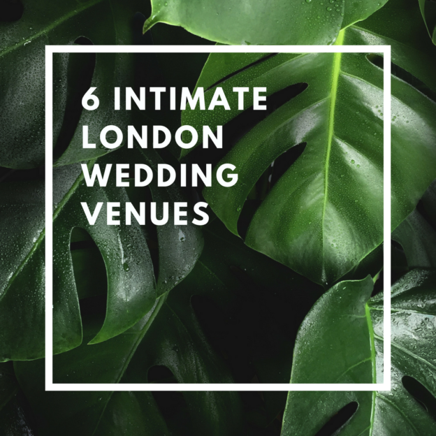 6 intimate london wedding venues