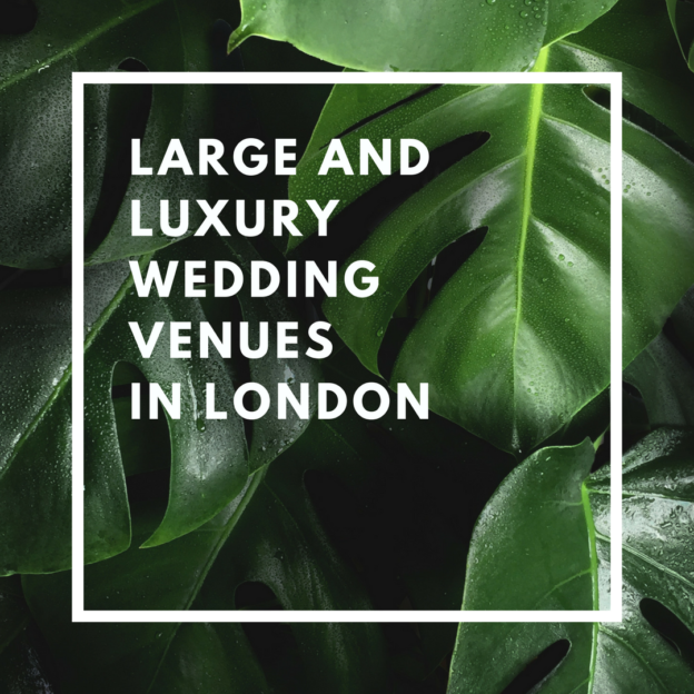 large and luxury wedding venues in london