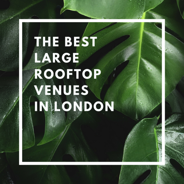 the best large rooftop venues in london