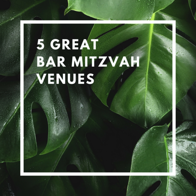 5 great bar mitzvah venues