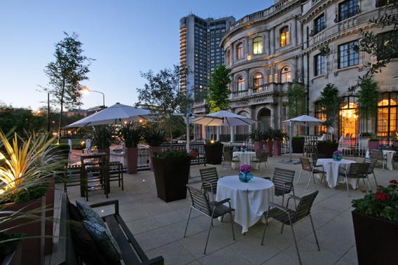 No 4 Hamilton Place terrace