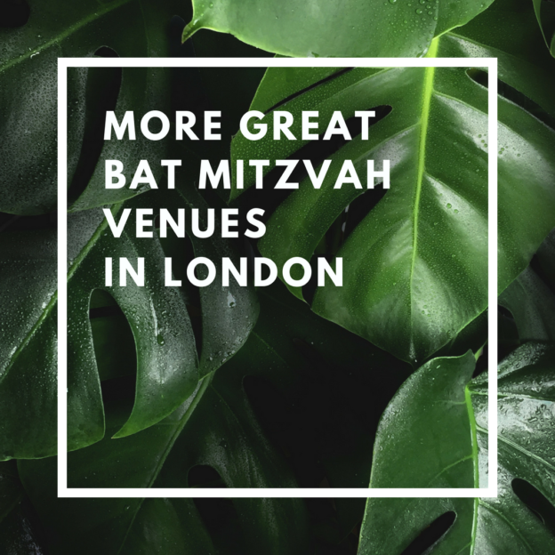 more great bat mitzvah venues in london