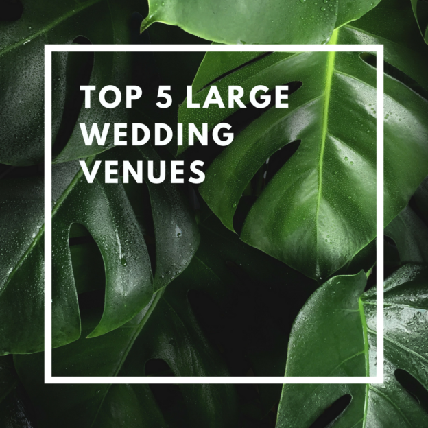 top 5 large wedding venues