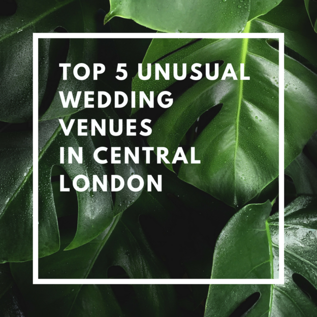 top 5 unusual wedding venues in central london