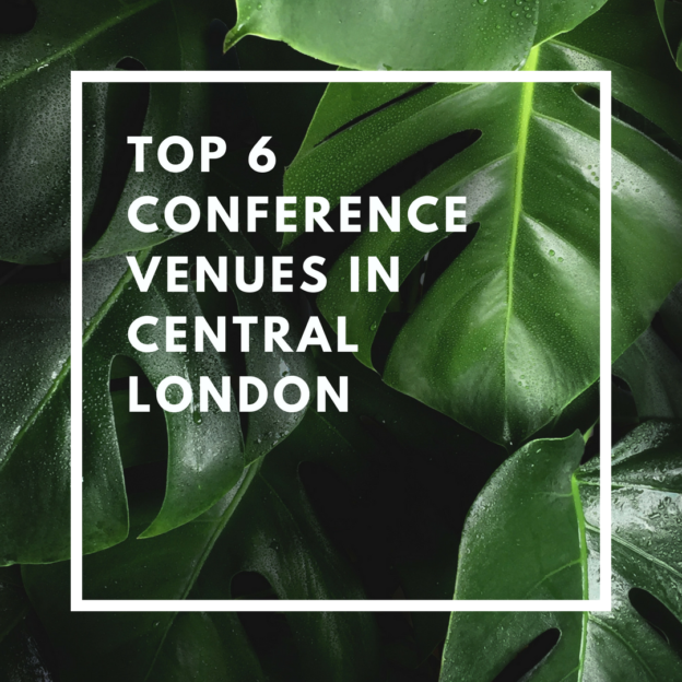 top 6 conference venues in central london