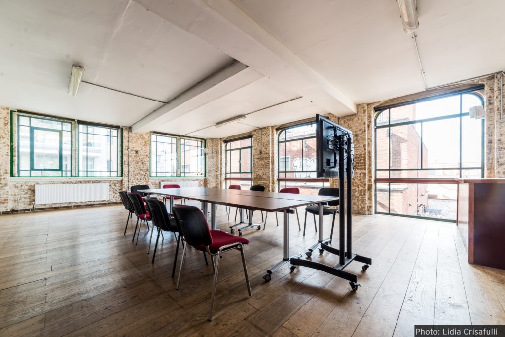 arcola theatre meeting room