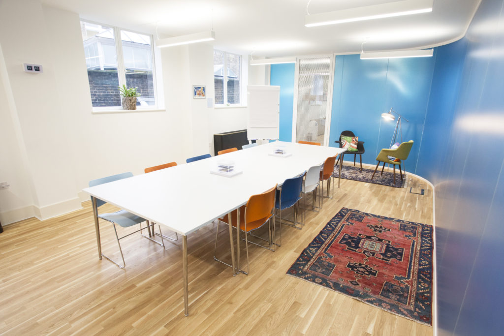 wallacespace spitalfields meeting room