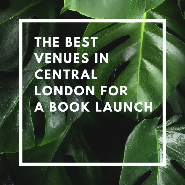 the best venues in central london for a book launch