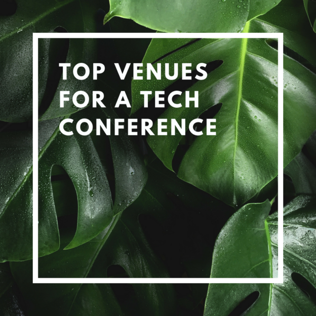 top venues for a tech conference