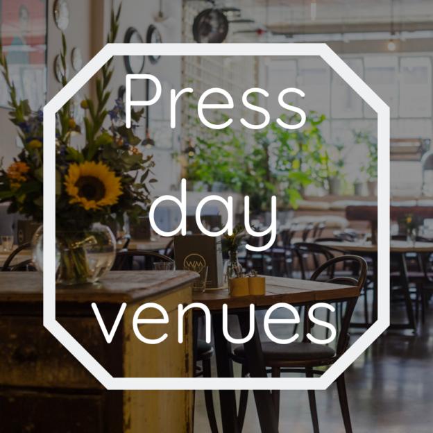 press day venues