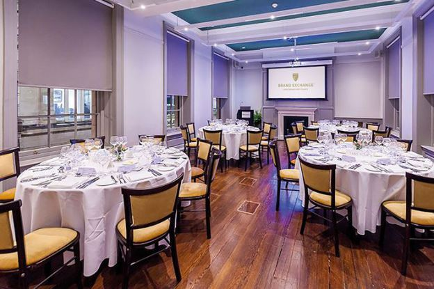 brand exchange city of London Christmas party deal