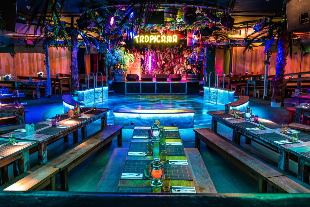 tropicana beach club party ideas