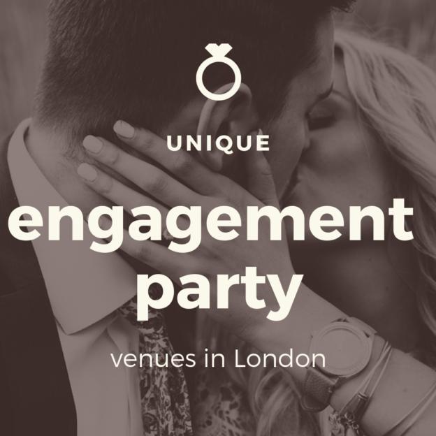 unique engagement party venues in london