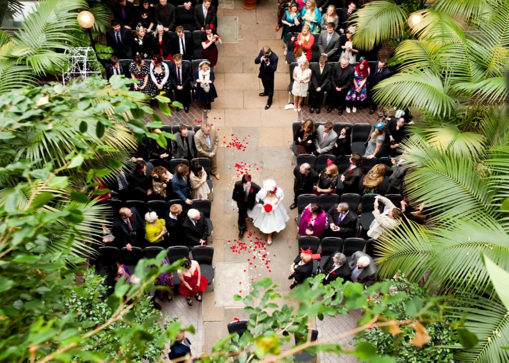 Secret wedding spaces in London