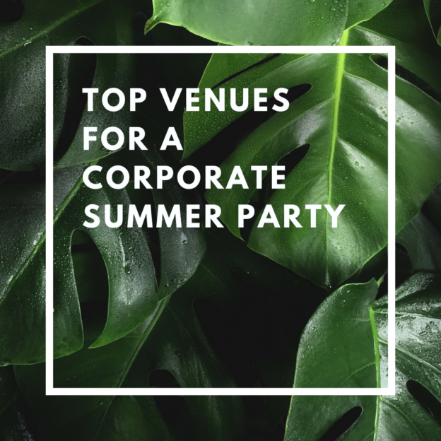 top venues for a corporate summer party