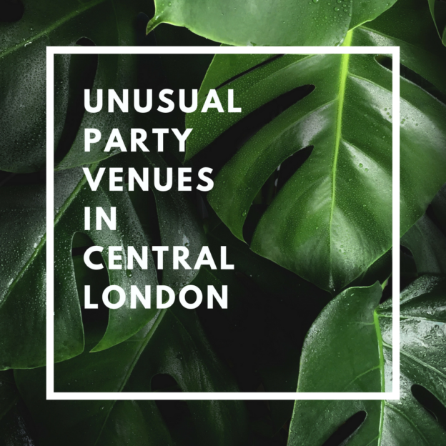 unusual party venues in central london