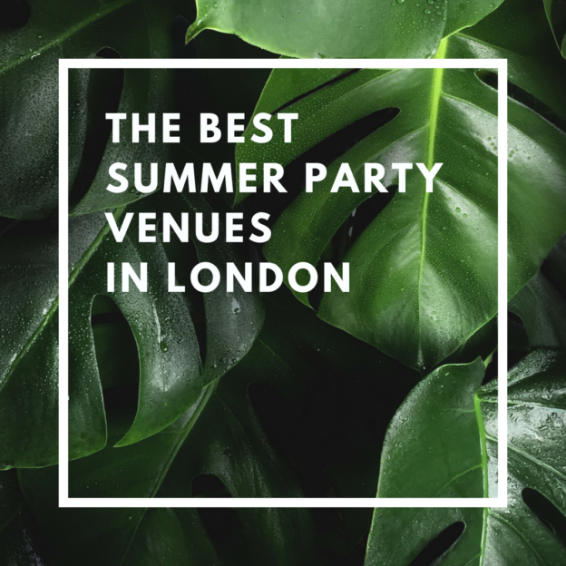 the best summer party venues in london