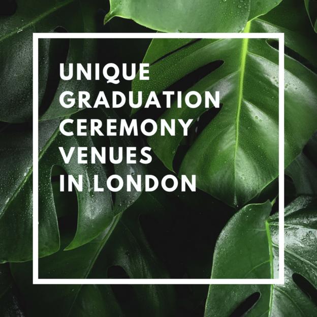 unique graduation ceremony venues in london