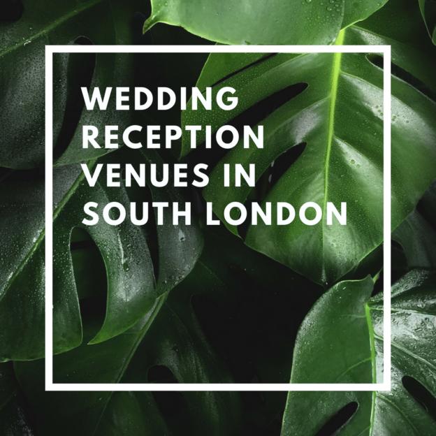 wedding reception venues in south london