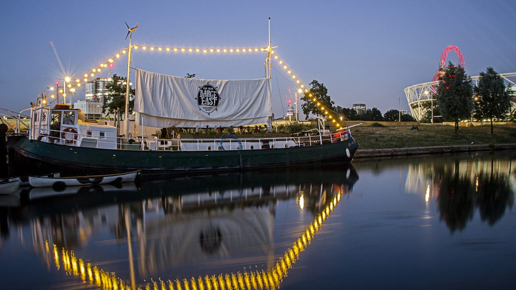 barge east hackney wick venues