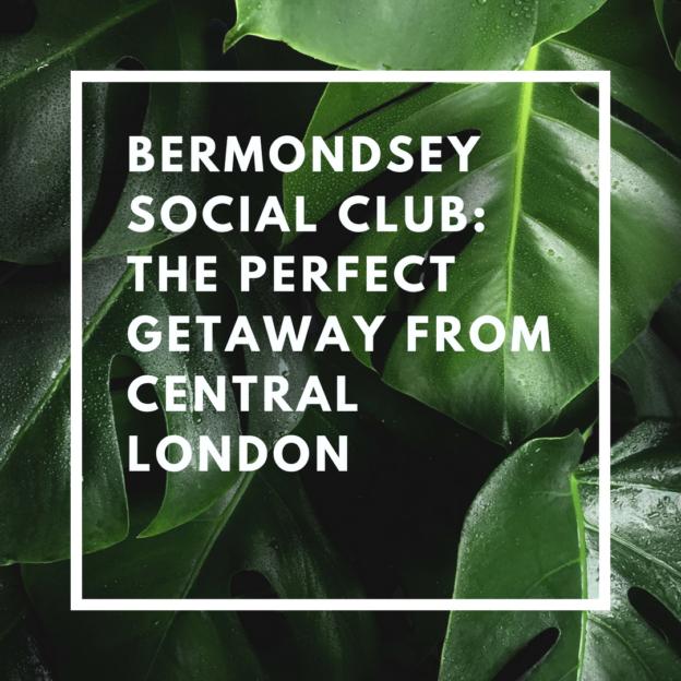 bermondsey social club getaway