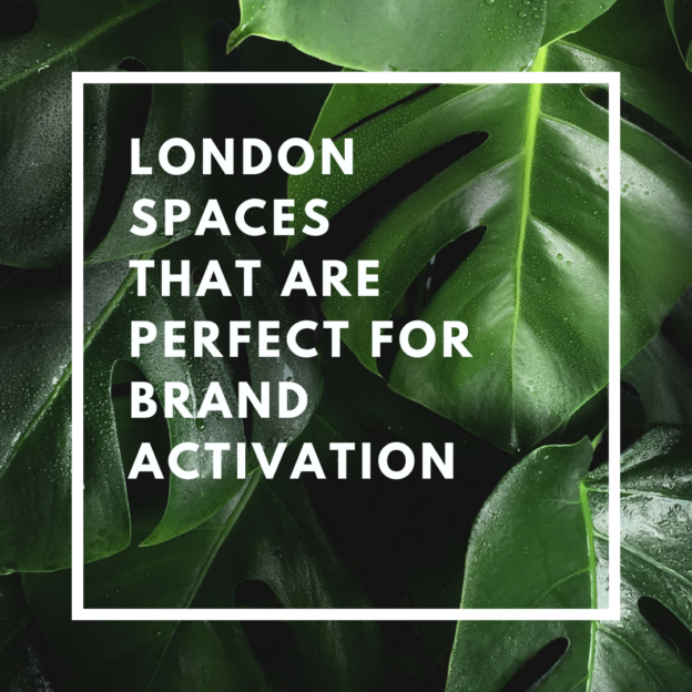london spaces that are perfect for brand activation