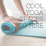 cool yoga spaces to hire