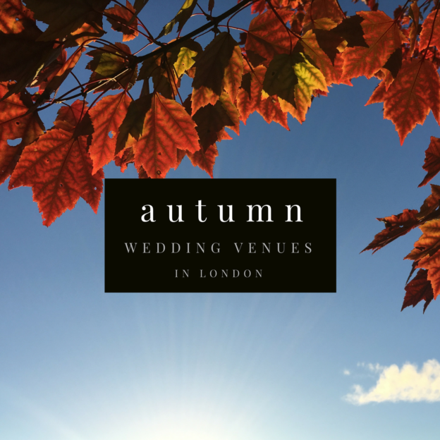 autumn wedding venues in london
