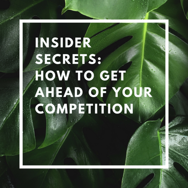 how to get ahead of your competition