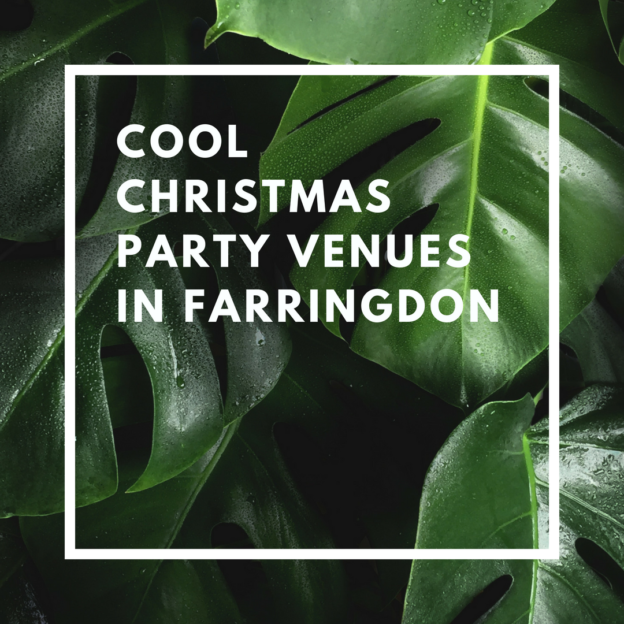 cool christmas party venues in farringdon