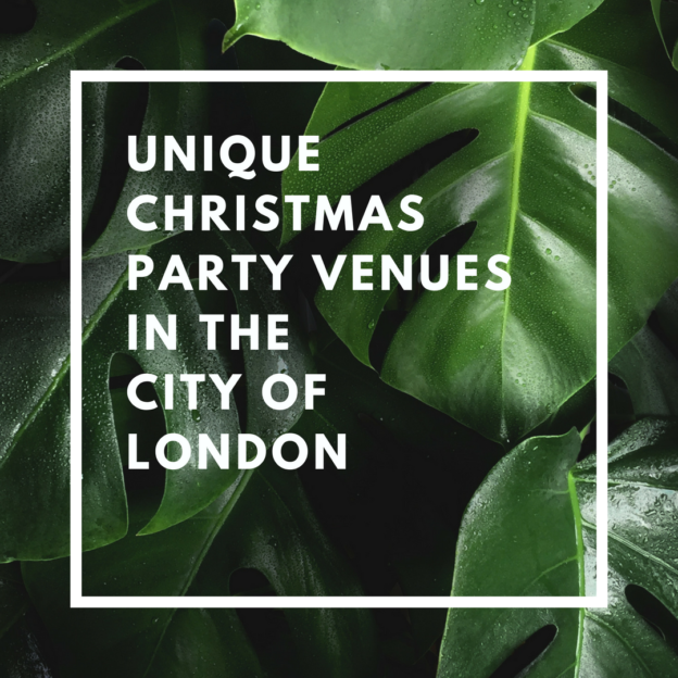 unique christmas party venues in the city of london
