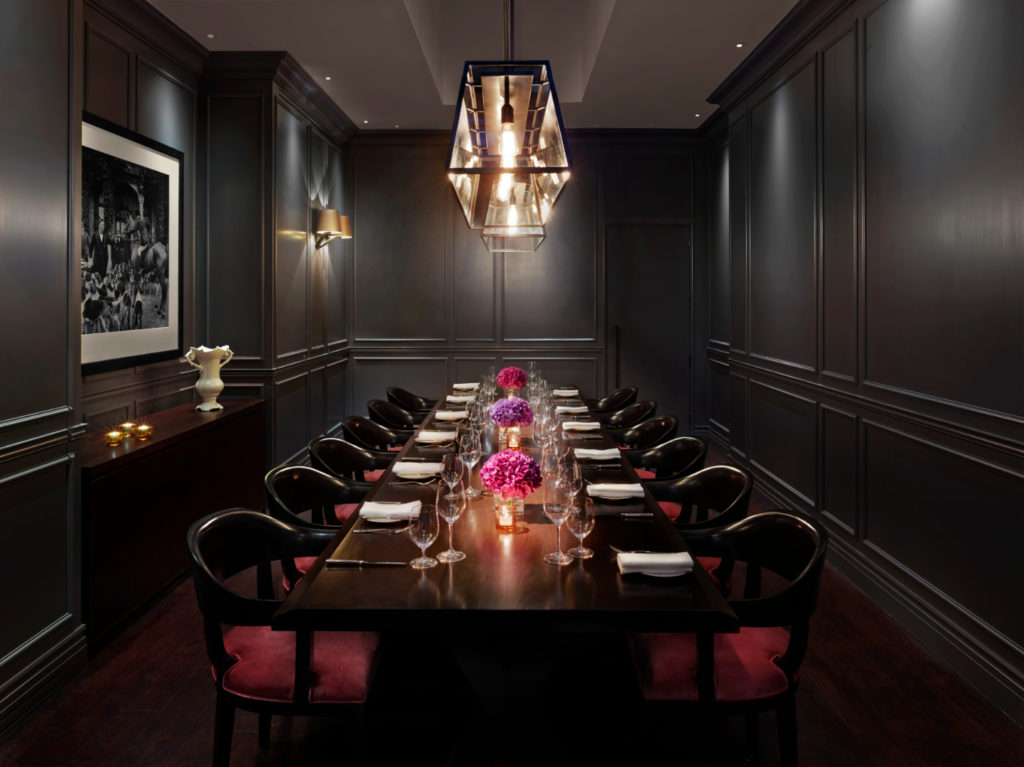 berners tavern private dining