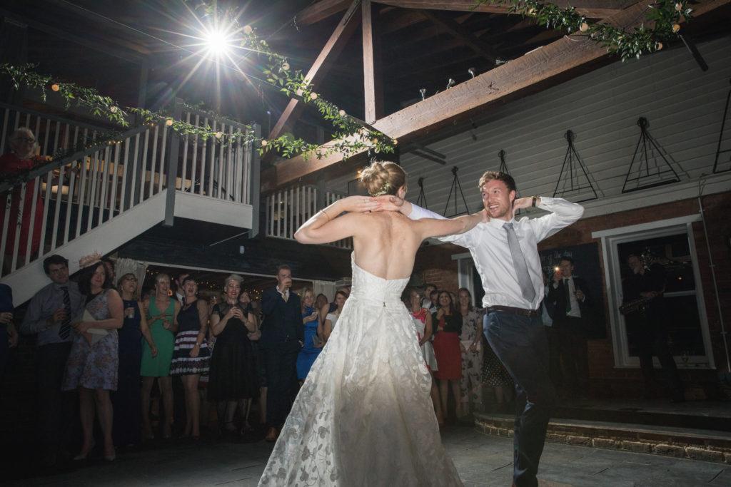 Rachel Sparks first dance