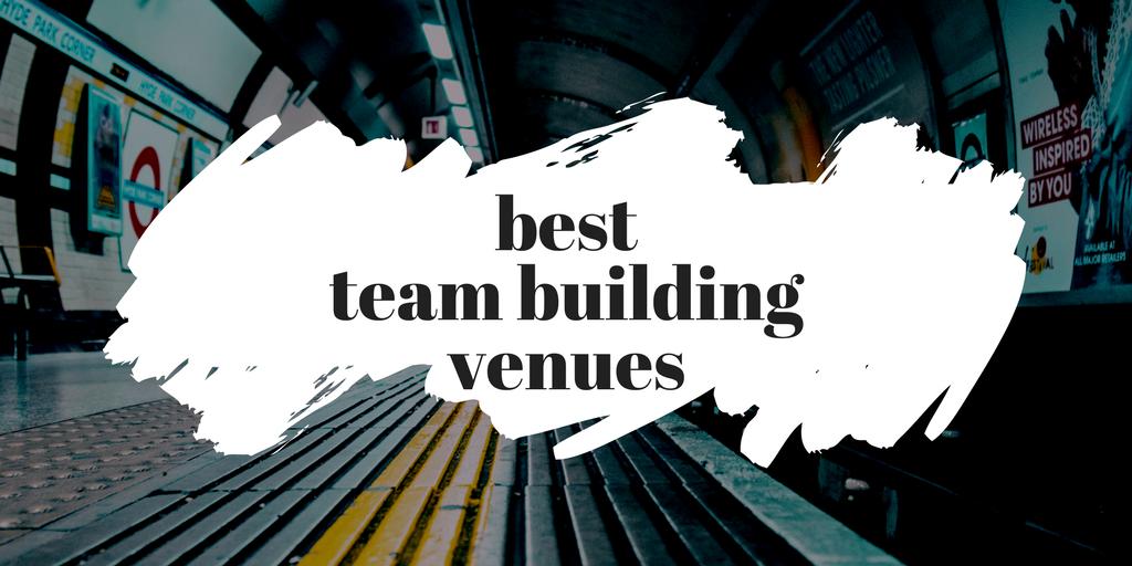 best team building venues