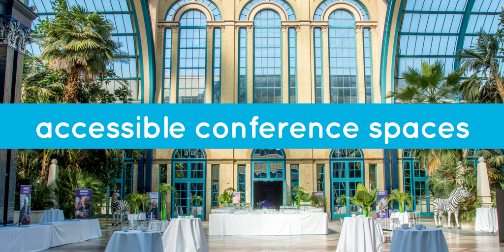 accessible conference spaces