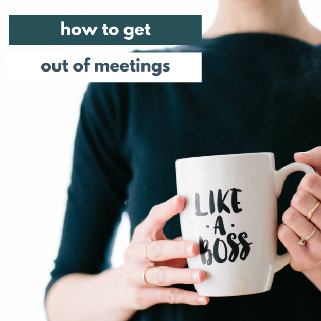 get out of meetings IG