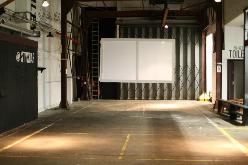 Unique private screening spaces