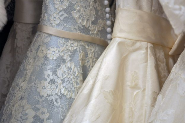 Charity shop wedding dresses