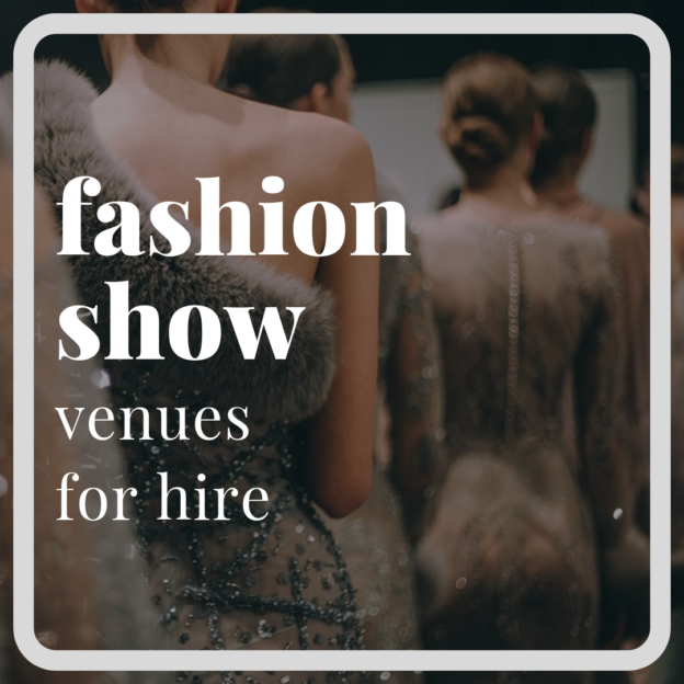 fashion show venues london