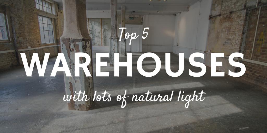 Natural light warehouses London