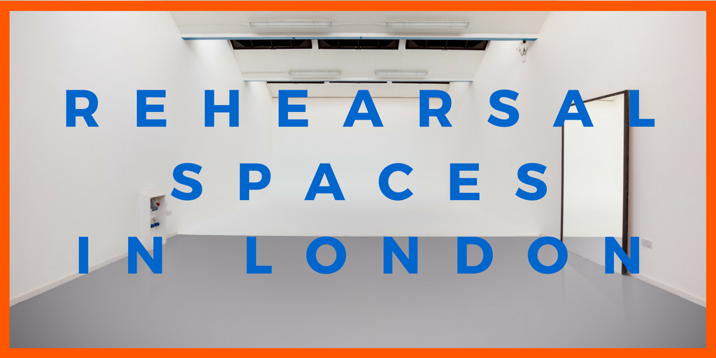 rehearsal spaces in london