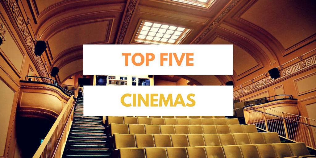 Top five cinemas private hire London