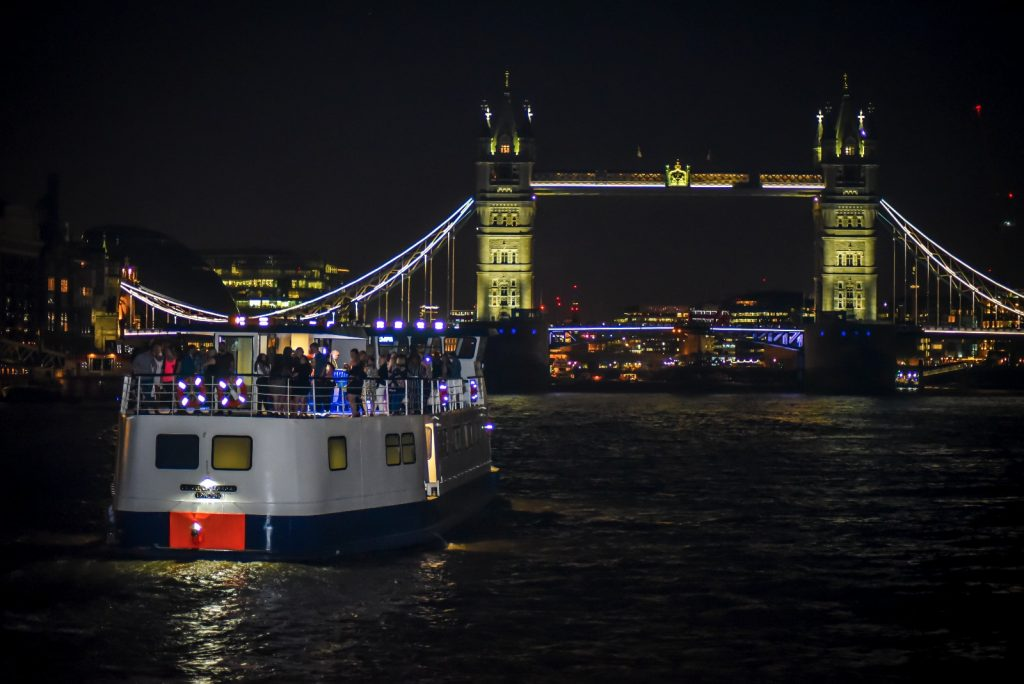 mv pearl of london bridge birthday party venues