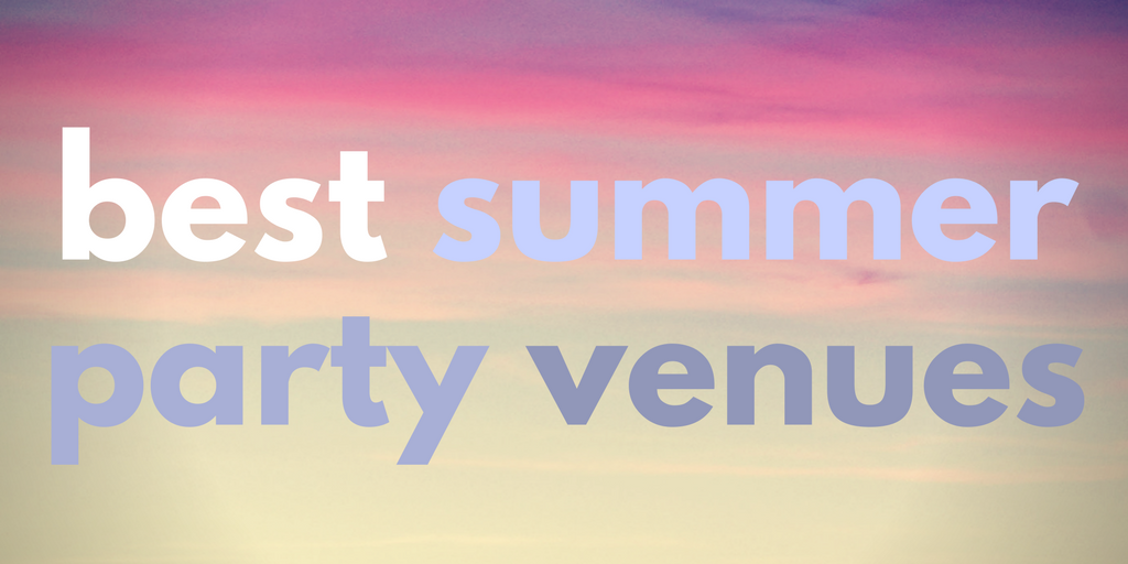 Best summer party venues - Canvas Events