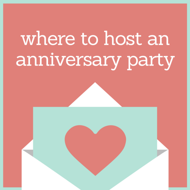 where to host an anniversary party