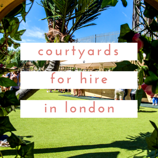 courtyards for hire
