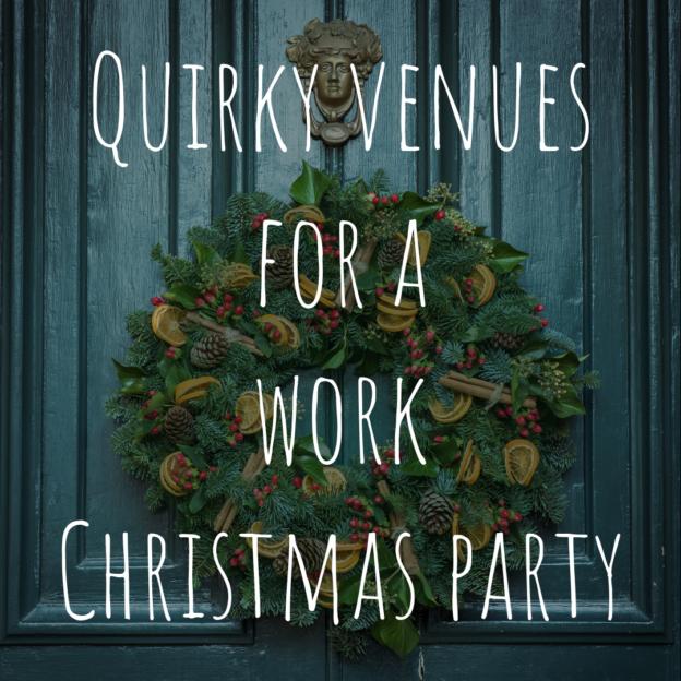 unusual work christmas party venues in london2 (1)