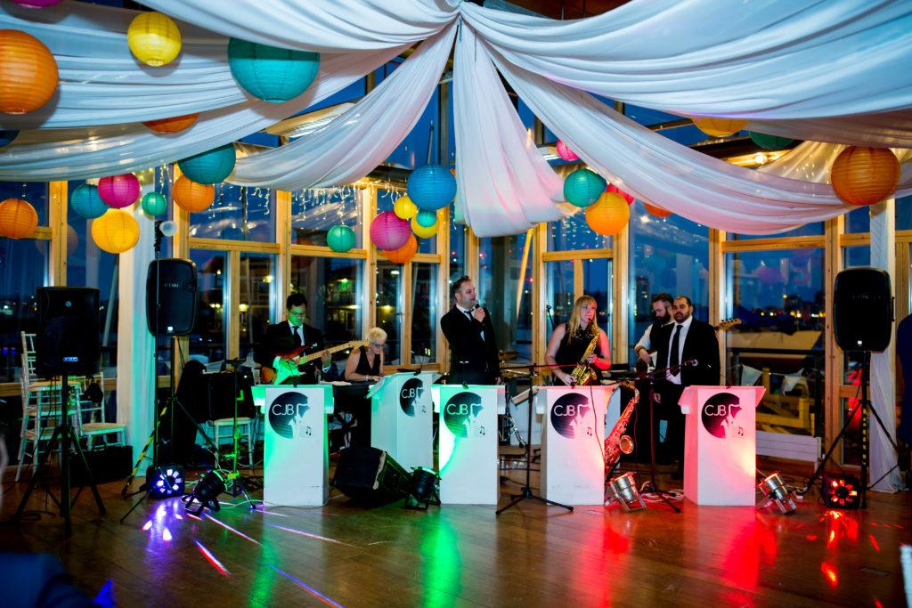 greenwich yacht club wedding dancefloor