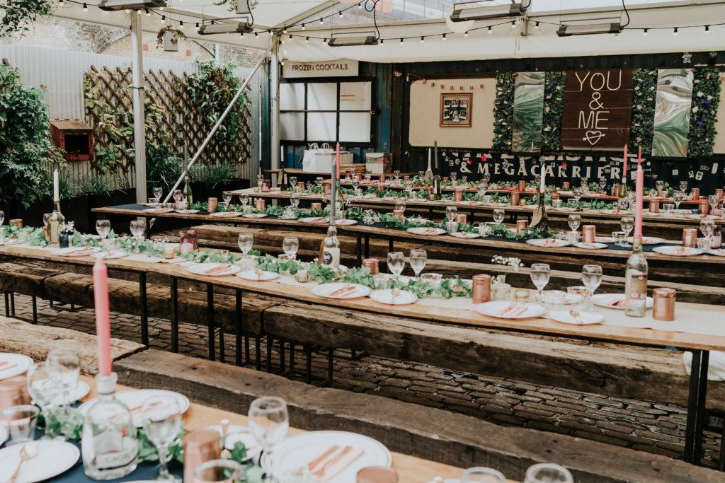 peckham springs warehouse wedding venues